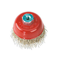 Sealey CBC75 Brassed Steel Cup Brush 75mm M10 x 1.5mm