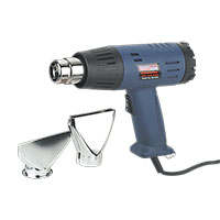 Sealey HS103K Hot Air Gun Kit 2-Step 350 C/600?C