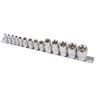 Laser Star Socket Set - 14pc