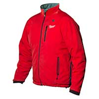 Milwaukee M12 Red Premium Heated Jacket Size Medium No Batteries Or Charger