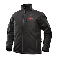 Milwaukee M12 Black Heated Jacket - Size Large (Naked-no batteries or charger) NEW