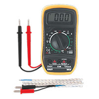 Sealey MM20 Digital Multimeter 20 Function with Thermocouple