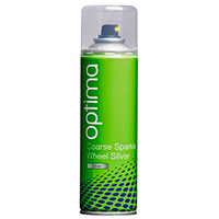 Optima Coarse Sparkle Wheel Silver Aerosol (300ml)