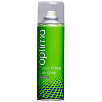 Optima Dark Grey Plastic Primer Aerosol (300ml)
