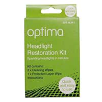 Optima Headlight Wipe Restoration Kit
