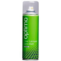 Optima Semi-Matt Clear Lacquer Aerosol (300ml)