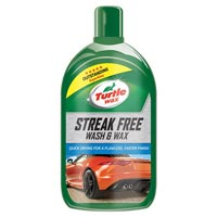Turtlewax Streak Free Wash & Wax 1Ltr