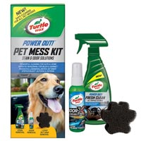 Turtlewax Power Out! Pet Mess Kit Fresh & Clean Collection
