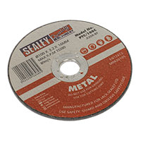 Sealey PTC/100C Cutting Disc 100 x 3mm 16mm Bore