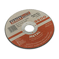 Sealey PTC/115C Cutting Disc 115 x 3mm 22mm Bore