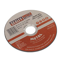 Sealey PTC/115CET Cutting Disc 115 x 1.2mm 22mm Bore