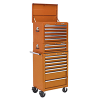 Sealey 14 Drawer Tool Chest Combo - (orange)