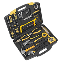 Sealey SEAS0974 25pc Tool Kit in carry case