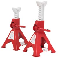 Sealey VS2003 Axle Stands (Pair) 3tonne Capacity per Stand Ratchet Type