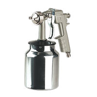 Sealey SSG2 Spray Gun Suction Feed General Purpose 1.5mm Set-Up