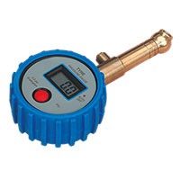 Sealey TST/PG98 Tyre Pressure Gauge Digital with Swivel Head & Quick Release 0-100psi