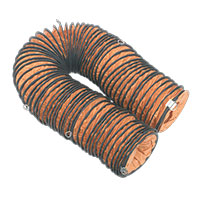 Sealey VEN200AK2 Flexible Ducting ?200mm 10mtr