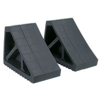 Sealey WC02 Rubber Wheel Chocks 3.3kg - Pair
