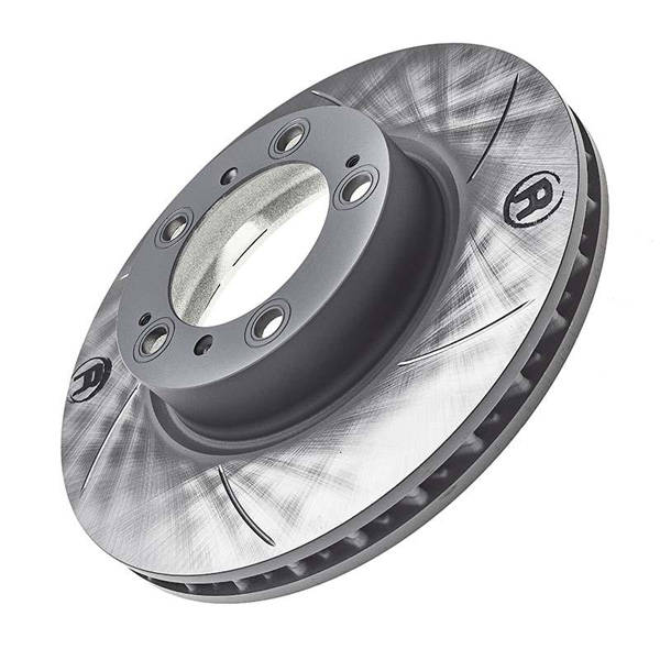 SEBRO (Performnace slotted brake disc -6 slot curved RHF)