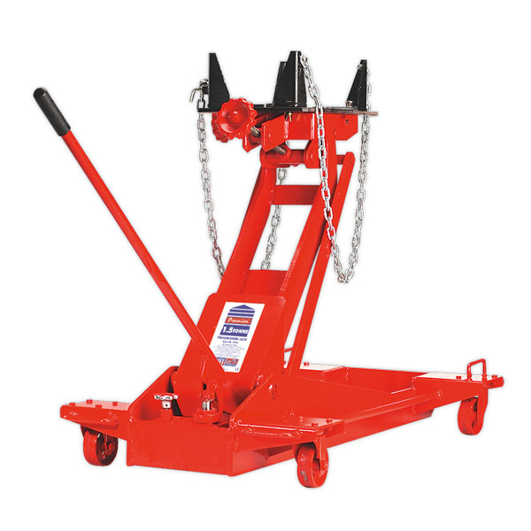 Sealey 1500E Transmission Jack Yankee 1.5ton Floor