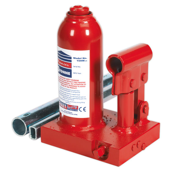 Sealey 15HM Bottle Jack Premier 3ton
