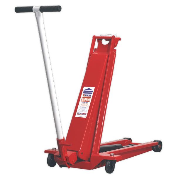 Sealey 2200HL Trolley Jack Yankee 2ton High Lift Low Entry