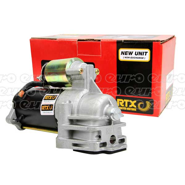 Rtx starter motor