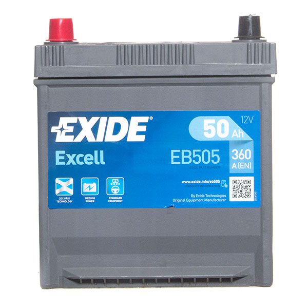 Exide Excel 004 Car Battery - 3 Year Guarantee
