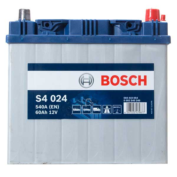 Bosch S4 Battery (Car Battery 005 4 Year Guarantee)