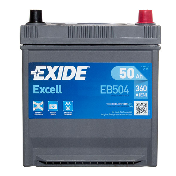 Exide Excell Battery 008 3 Year Guarantee