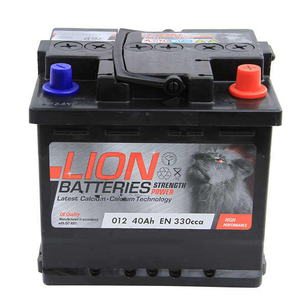 Lion Battery 012 3 Year Guarantee