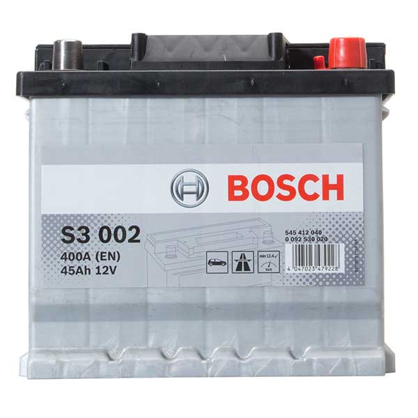 Bosch S3 Battery 012 3 Year Guarantee