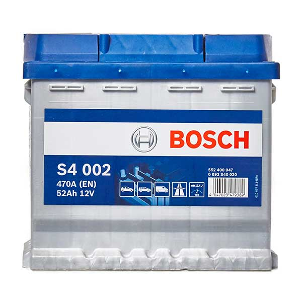 Bosch S4 Battery 012 4 Year Guarantee
