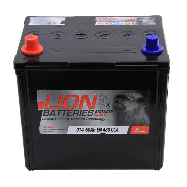 Lion Battery 014 3 Year Guarantee