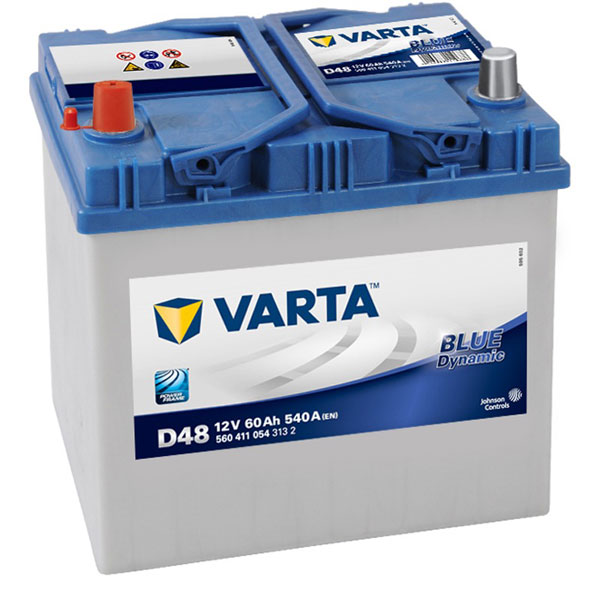 Varta Blue 014 Car Battery - 4 Year Guarantee