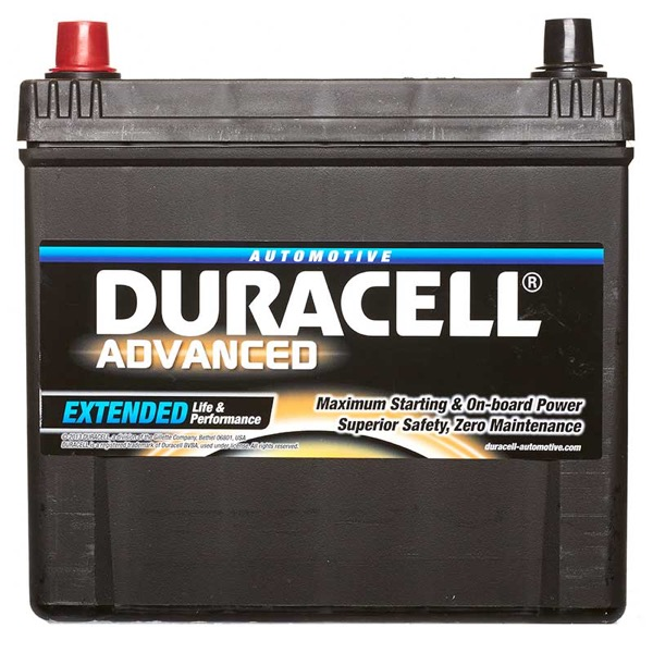 Duracell DA60L Advanced Car Battery Type 014 - 5 Year Guarantee