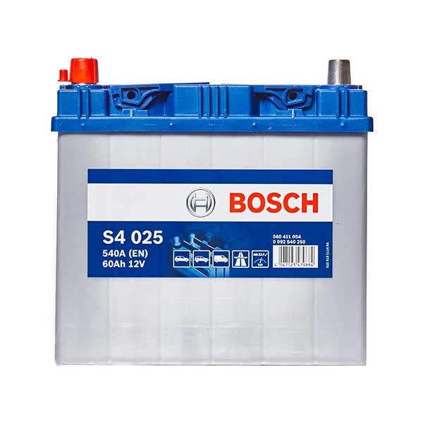 Bosch S4 Battery 014 4 Year Guarantee