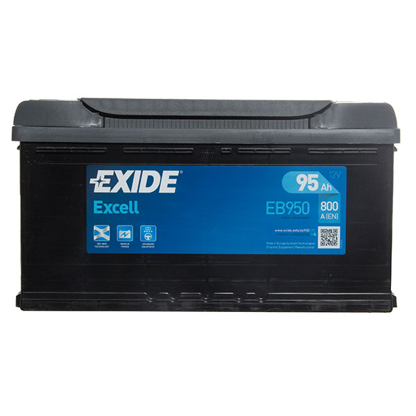 Exide Excel 017 Car Battery - 3 Year Guarantee