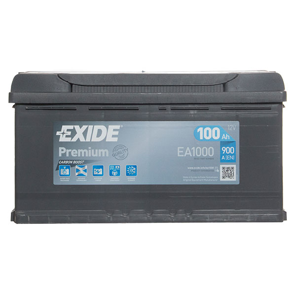 Exide Premium Battery 017 / 019 4 Year Guarantee