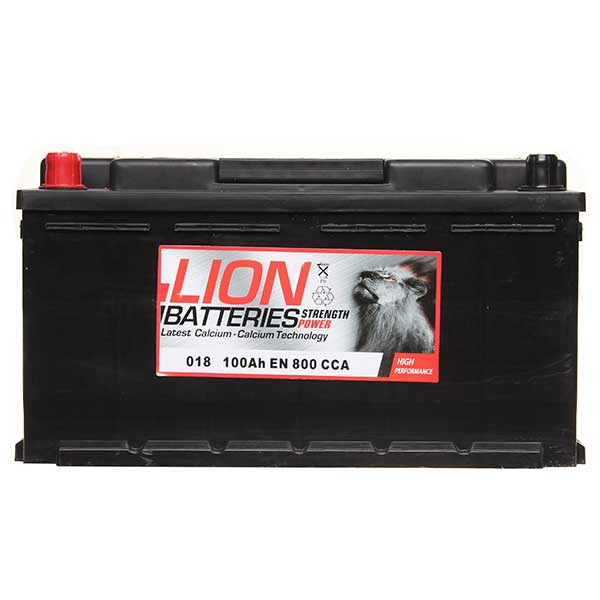 Lion Battery 018 100AH 800CCA B13