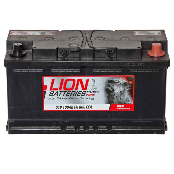 019 Titanium Car Van Battery 100Ah - 4 Year Warranty