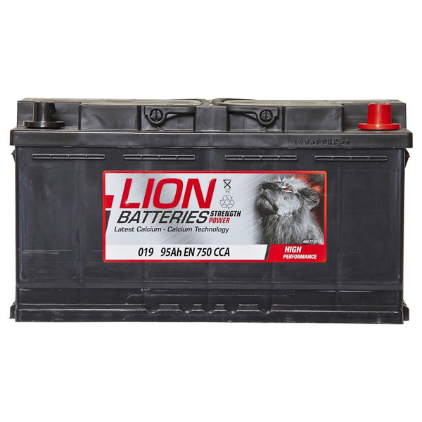 Lion 019 Car Battery - 3 Year Guarantee