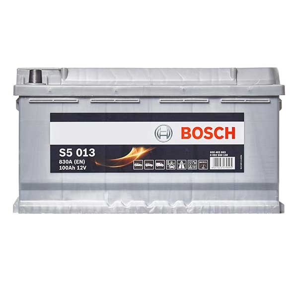 Bosch S5 Battery 019 5 Year Guarantee