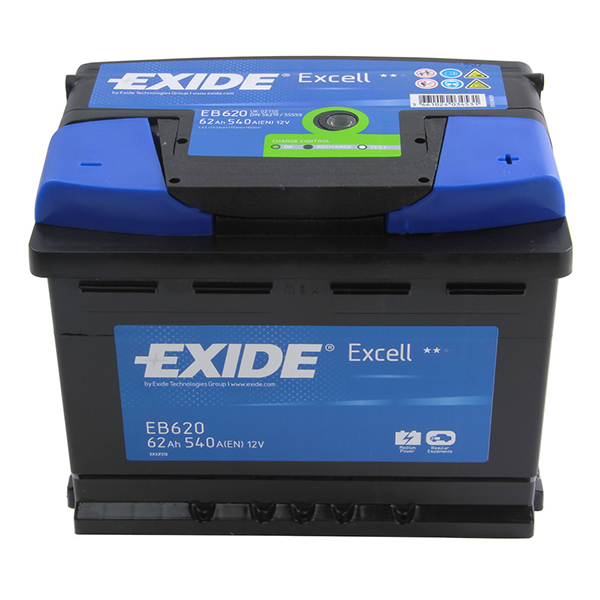 Exide Excell Battery 027 3 Year Guarantee
