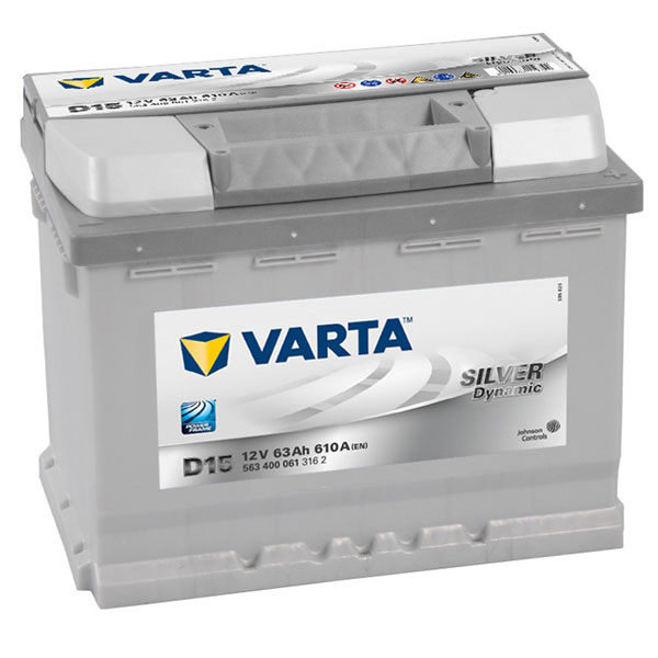 Varta Silver 027 Car Battery - 5 Year Guarantee