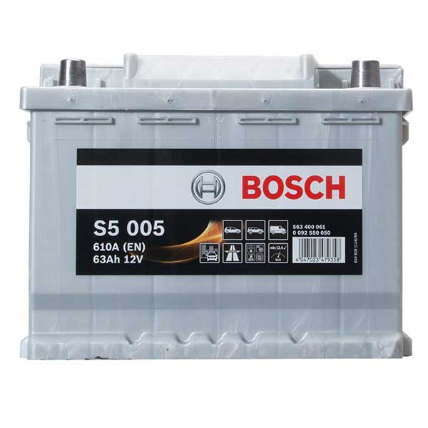 Bosch S5 Car Battery 027 5 Year Guarantee