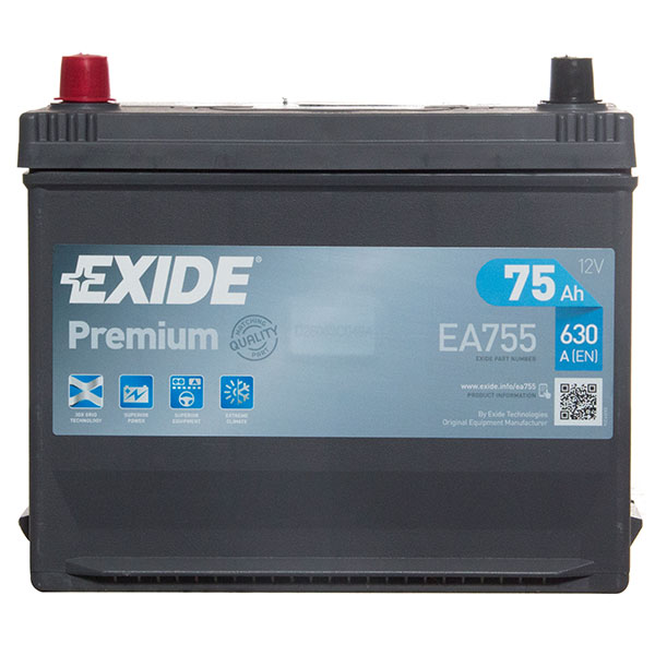 Exide Premium Battery 031 4 Year Guarantee