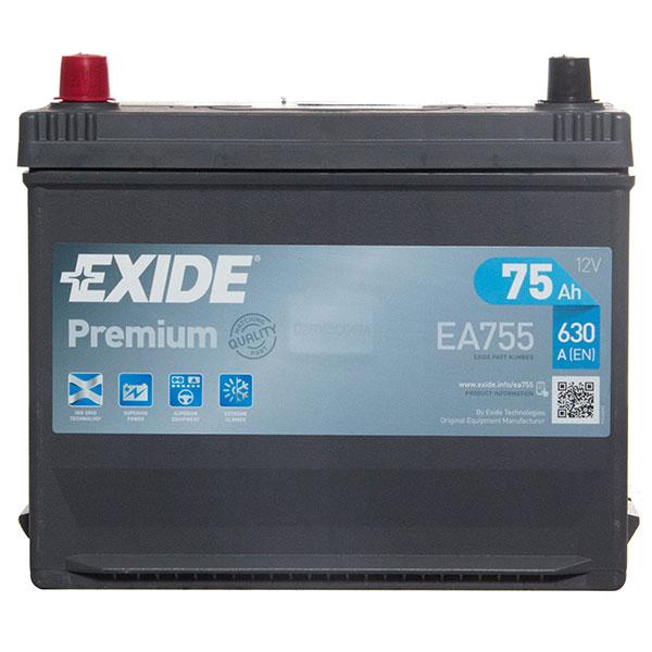 Exide Premium Battery(031 Car Battery (75Ah) - 5 Year Guarantee)
