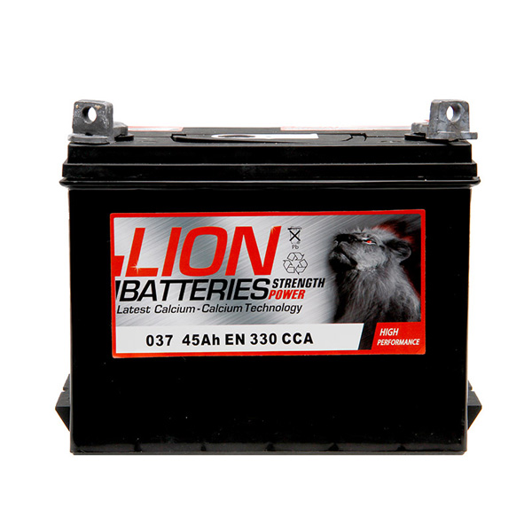Lion 037 Car Battery - 3 year Guarantee