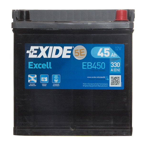 Exide Excell Battery 048 3 Year Guarantee